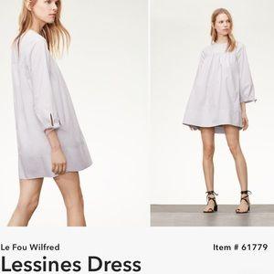 Le Fou Lessines capsule collection poplin dress